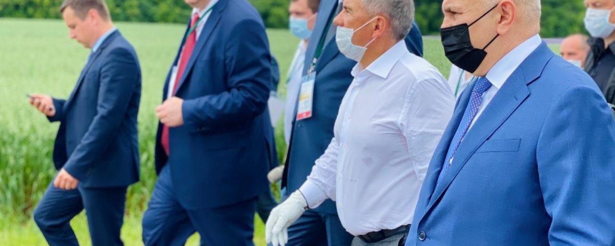 Руководство Росагролизинга приняло участие в Дне поля Республики Татарстан